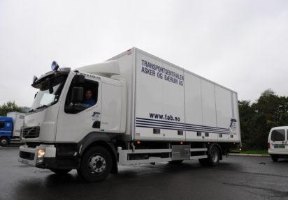 Distribusjonstjenester med vare- og skapbiler
